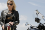 Female Motorcyclist