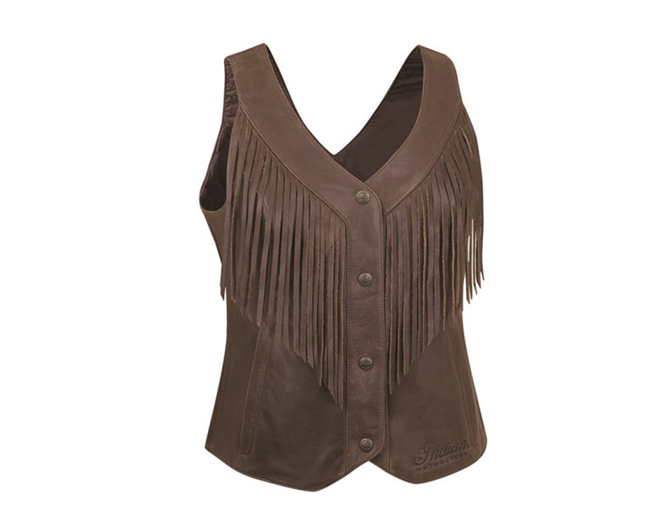 Women's Fringe Vest by Indian Motorcycle