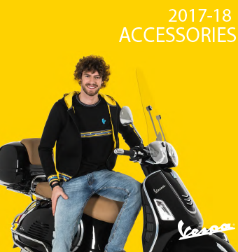 2017-18 Vespa Accessories Catalog