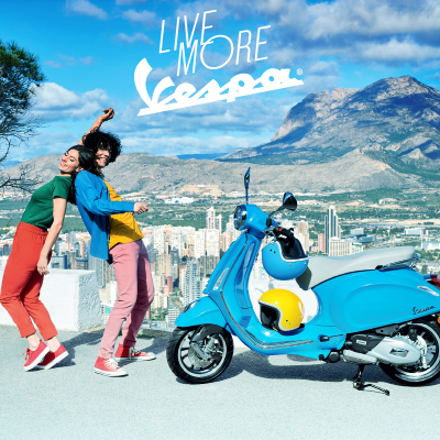 2018 Vespa Scooters