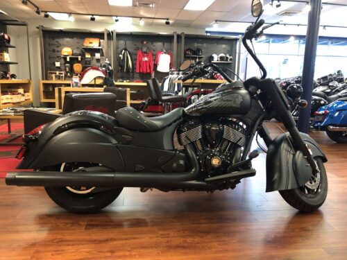 right side - 2019 indian chief dark horse