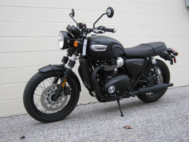2019 Triumph Bonneville T120 Black Chesapeake Cycles