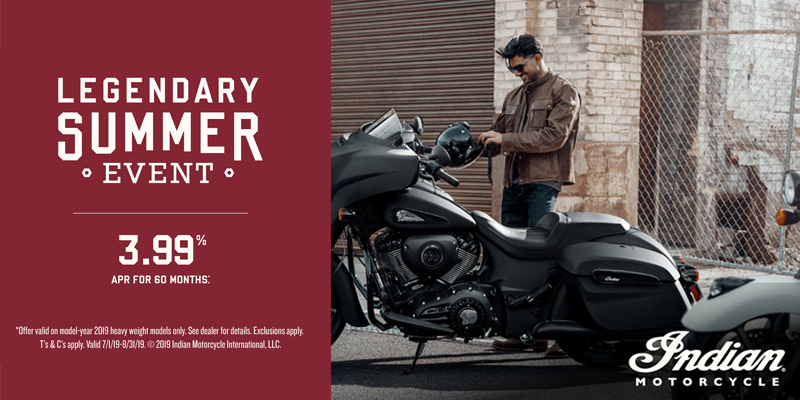 indian motorcycle legendary summer heavyweight promotion