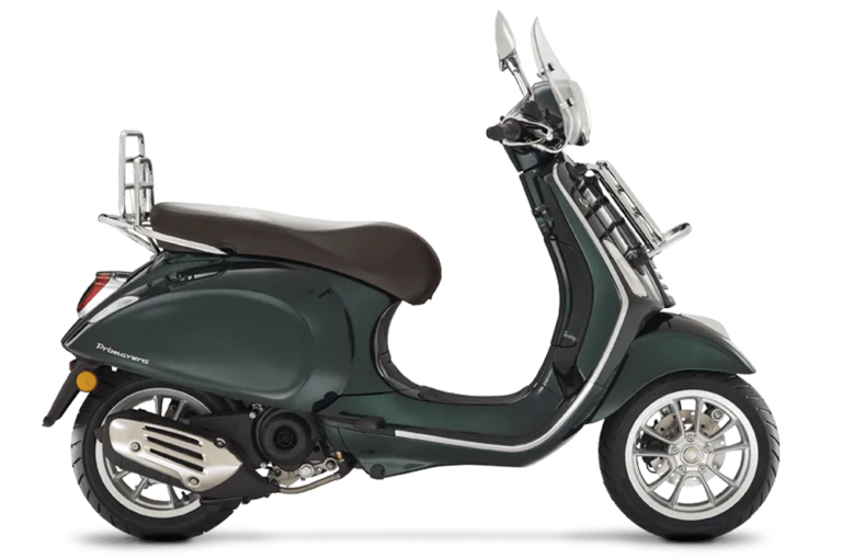 MY20 Primavera 50 Touring verde bosco side image