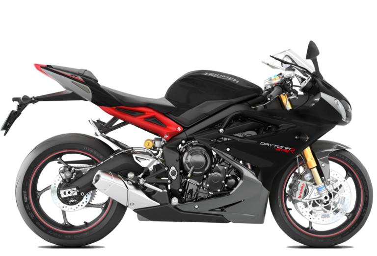 Daytona 675 R Matt Pha Black / Matt Alu Silver Stock