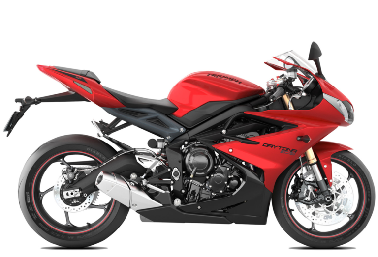 T69358 2015 Daytona 675 Stock Photo