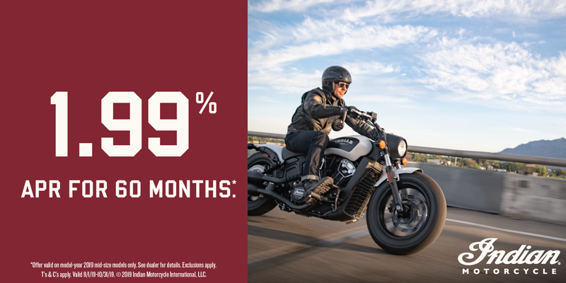 Oct 19 Indian Motorcycle Midsize Offers