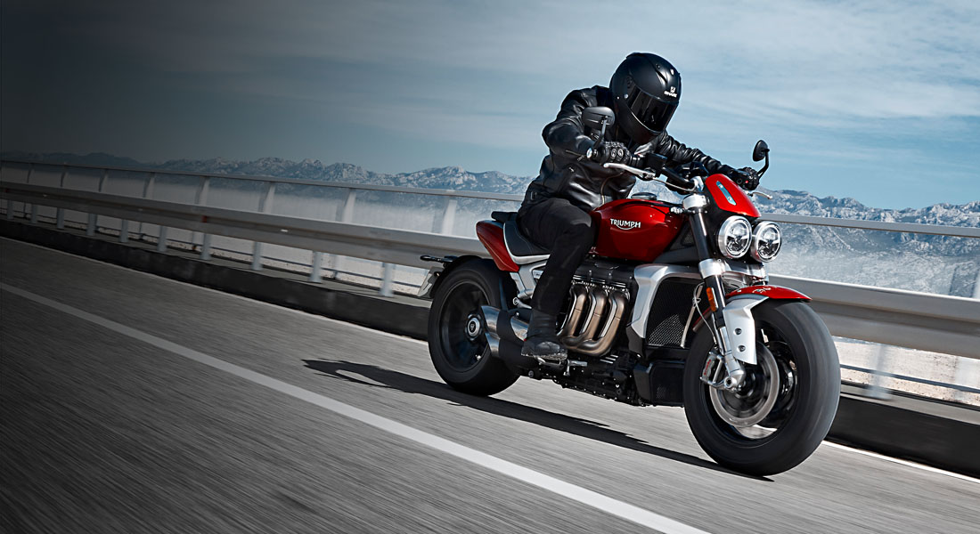 triumph rocket 3 riding image